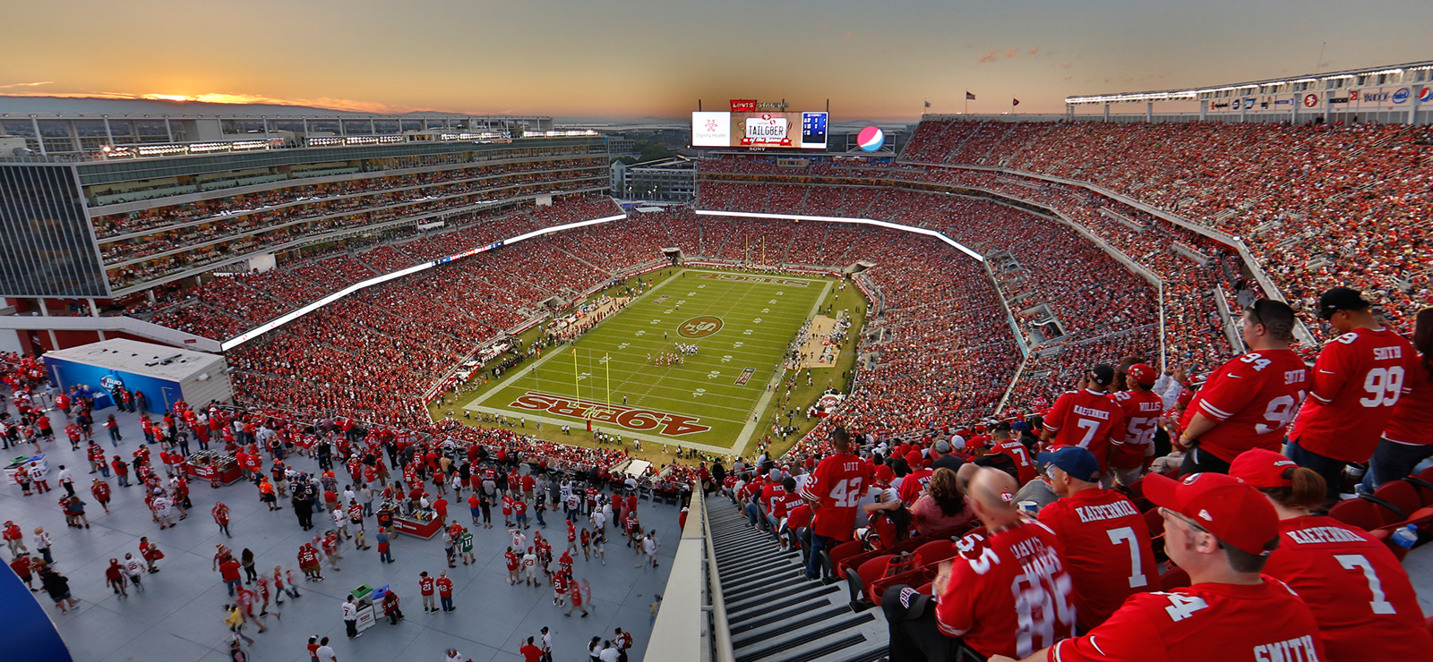 Image result for levis stadium