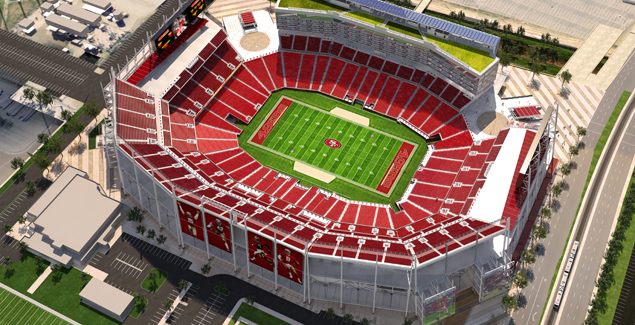 Pricing Announced For Reserved Seating In New Stadium Levis Stadium