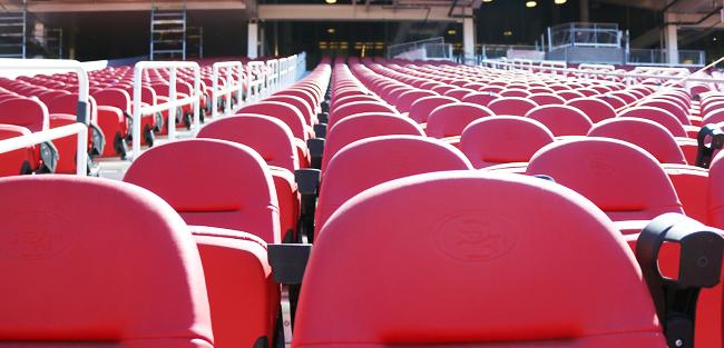 Levi's Stadium Seats