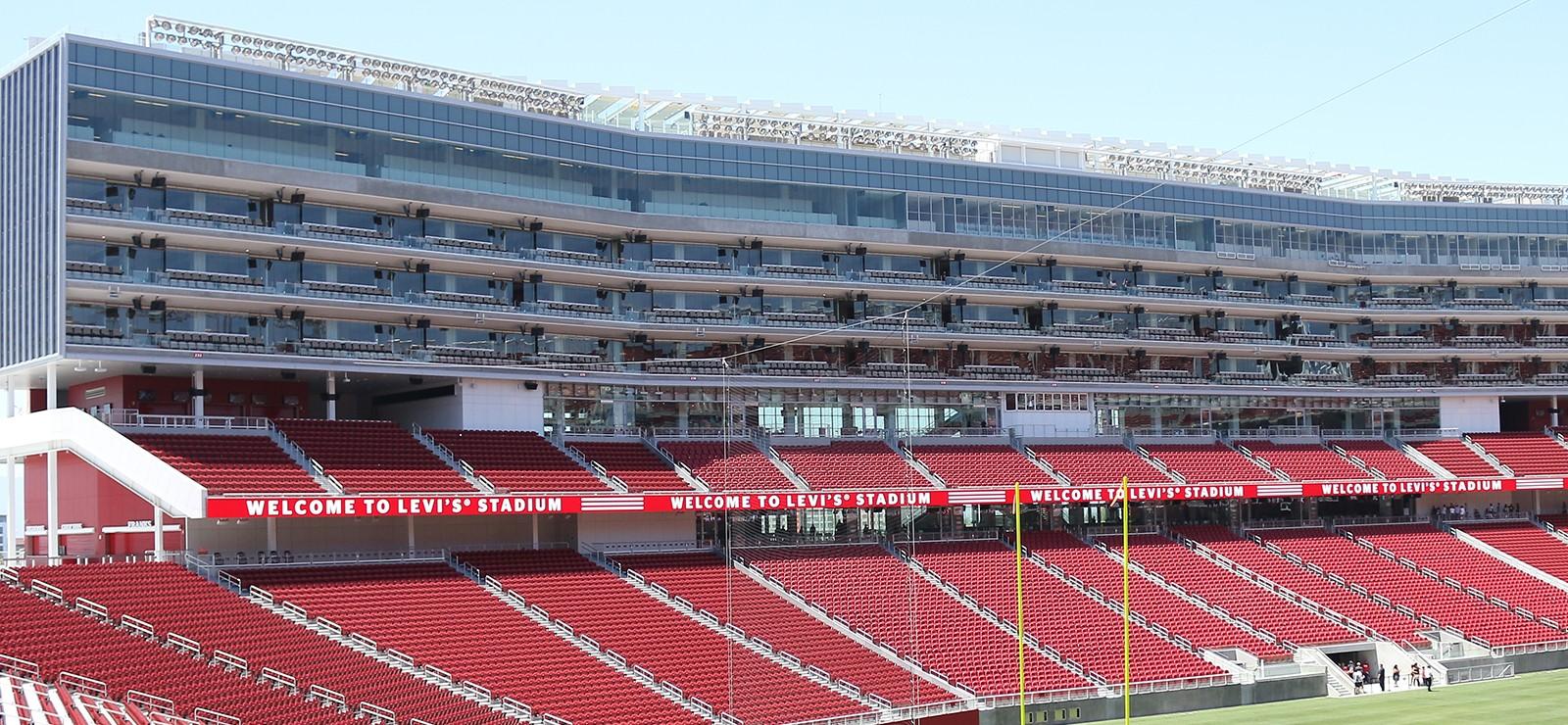 levi's® stadium configuration built for 49ers offensive, defensive