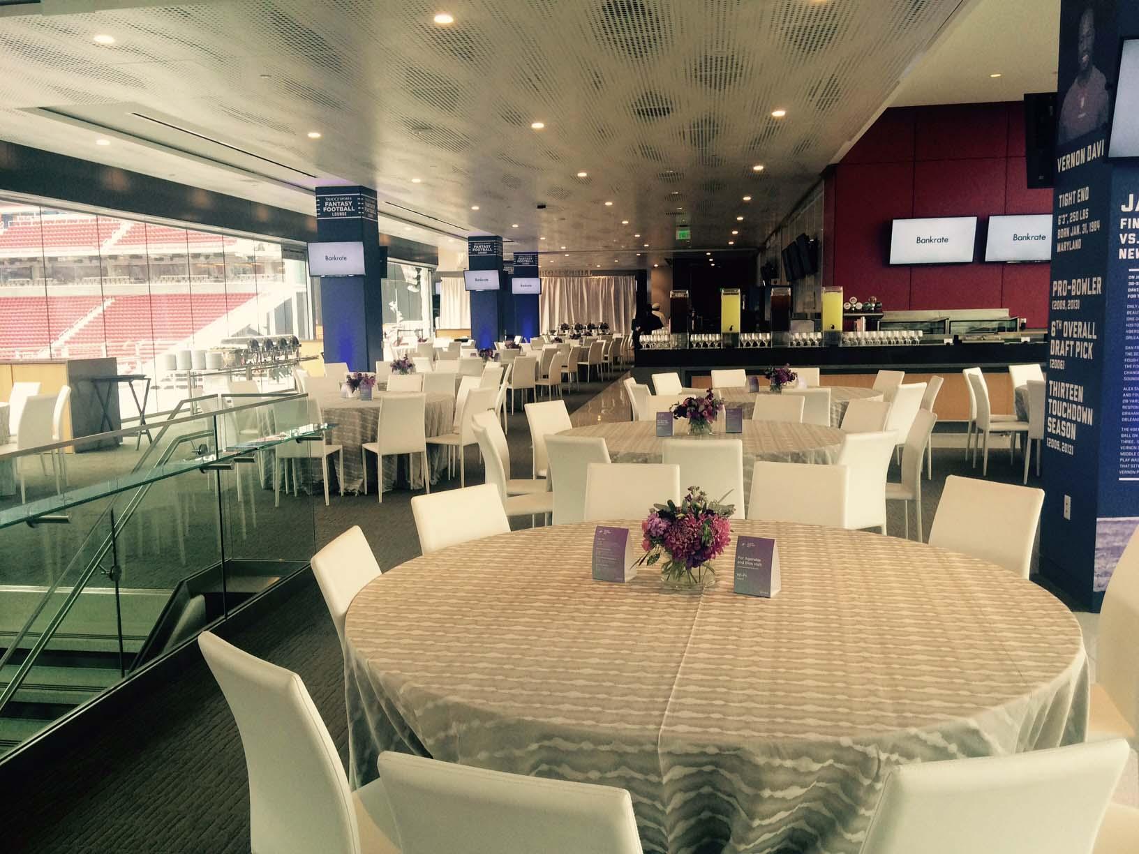 Yahoo! Fantasy Football Lounge - Levi's® Stadium