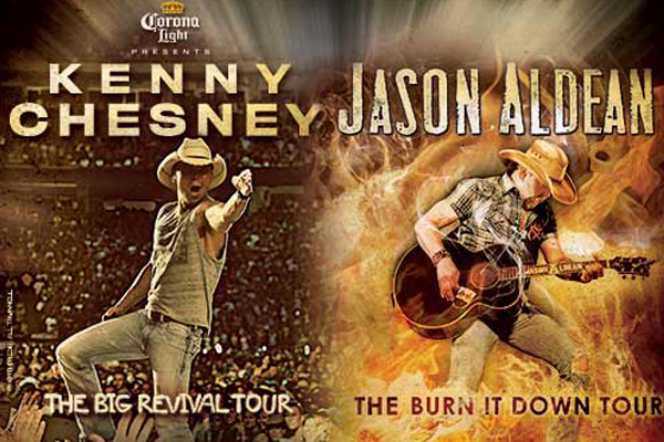 Kenny chesney 2019 tour dates in Brisbane