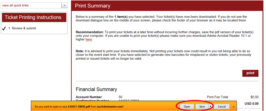 How to print tickets levis stadium print 7 sciox Image collections