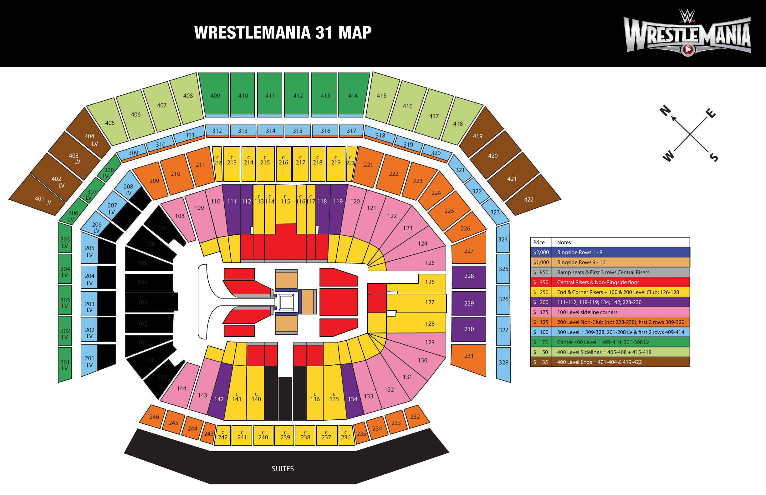 Wrestlemania 31 Presale Password Roundup Squaredcircle