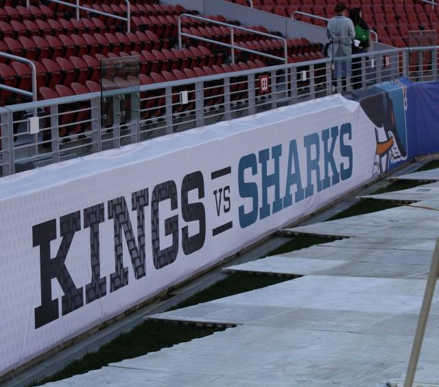 NHL Stadium Series rink update at Levi's Stadium