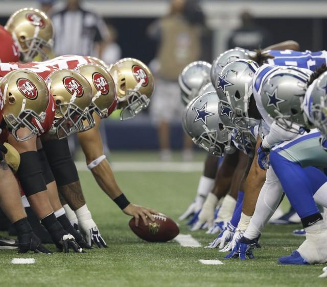 49ers Cowboys Football
