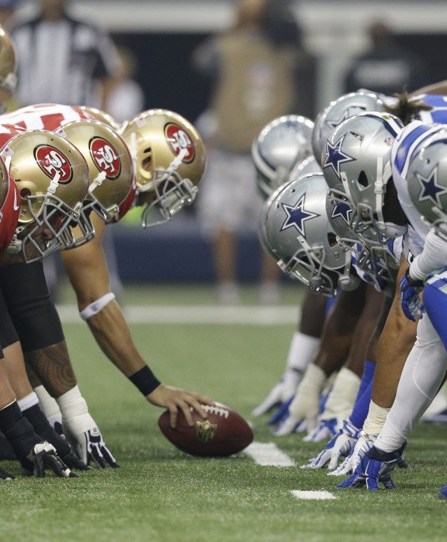 49ers Cowboys Football