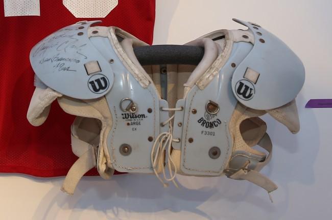 Dwight Clark Shoulder Pads