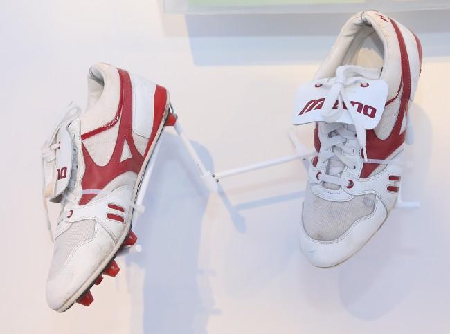 Joe Montana Super Bowl XXIII Shoes