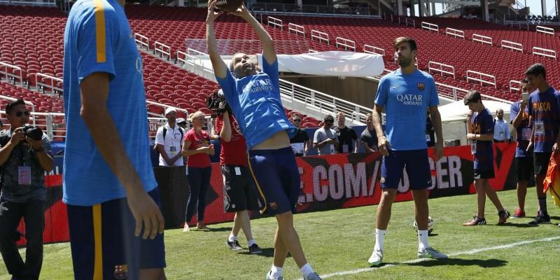 FC Barcelona Practice Photos