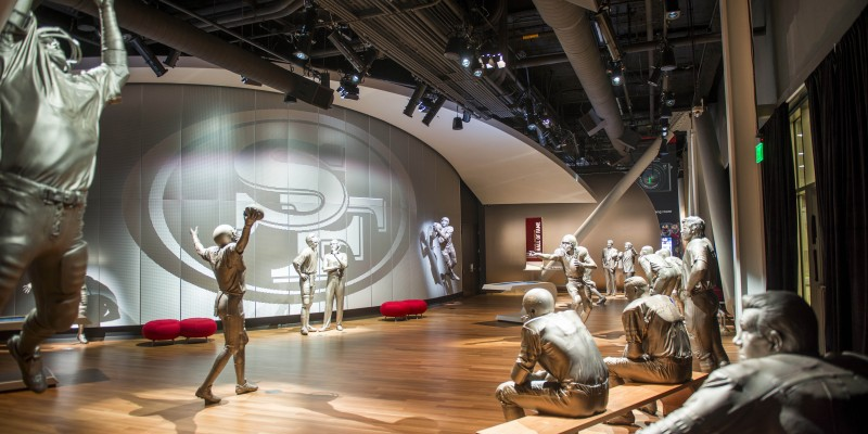 49ers Museum presented by Sony 3