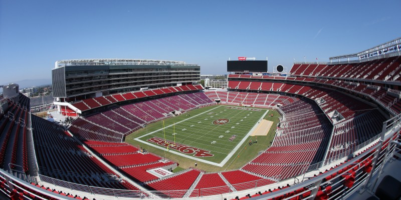 Levis Stadium Capacity >> Home Levi S Stadium