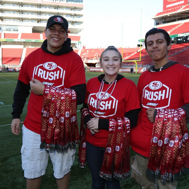 49ers Rush