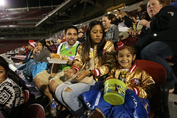 Levi's® Stadium Trick or Treat Tours