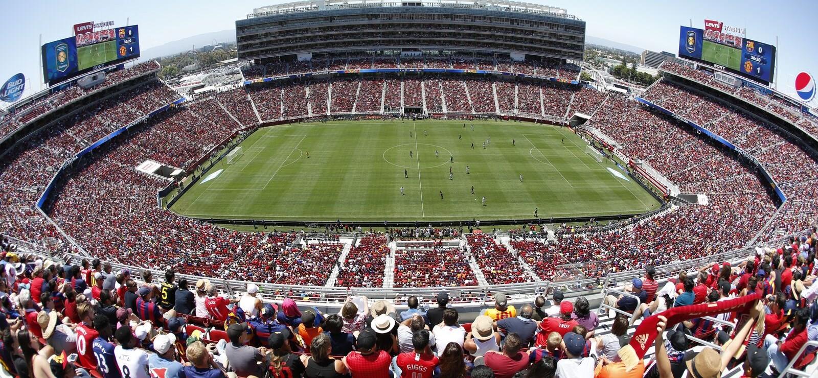 levi's® stadium among 10 host venues for copa america centenario in