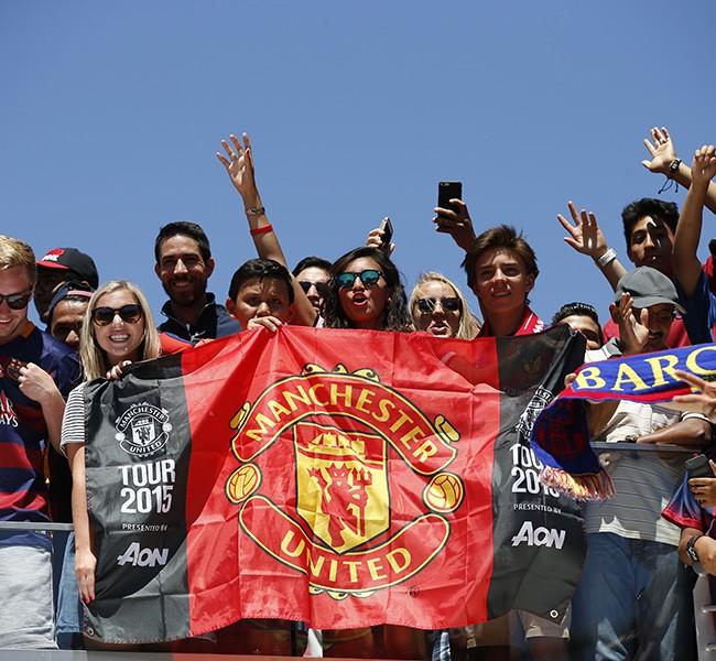 FC Barcelona v Manchester Utd