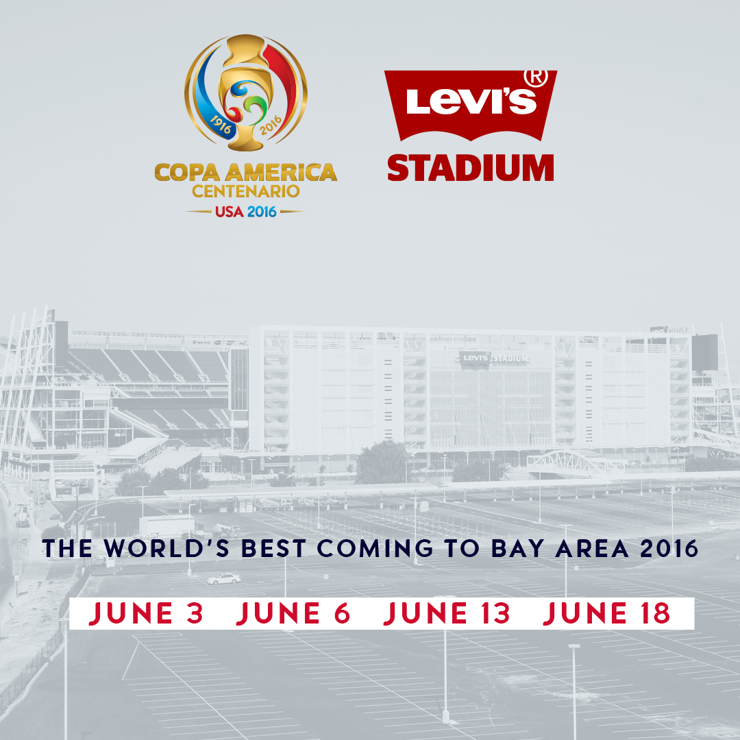 Levi's Stadium to Host Four Matches As Part of 2016 Copa America ...