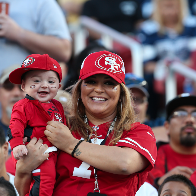 49ers Game Photo - Fans 3