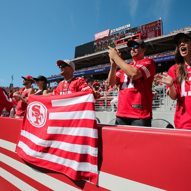 49ers Game Photo - Fans