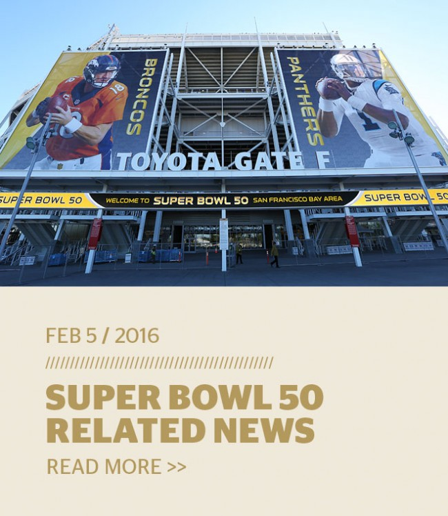 Super Bowl 50 Related News