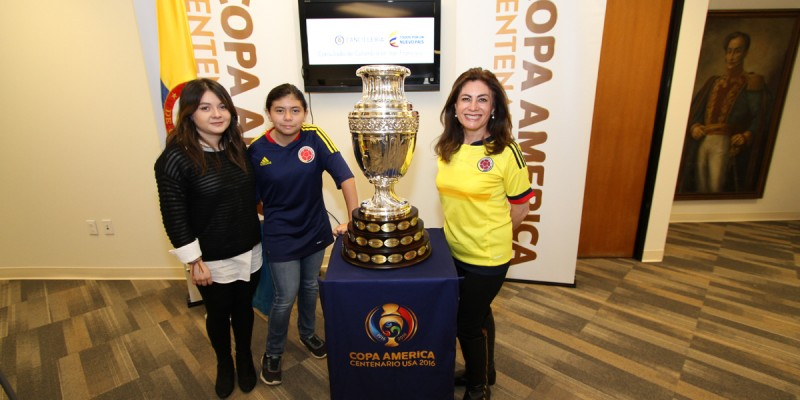 Photo Opportunity with the Official Copa Trophy