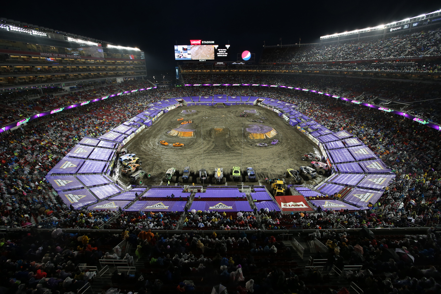 Supercross stadium