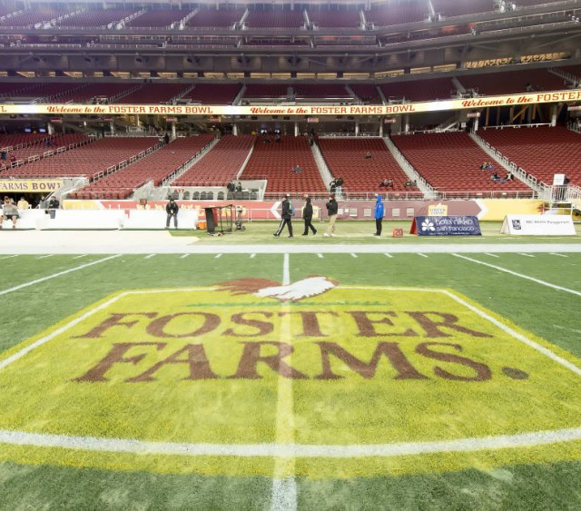 #19 Utah to Meet Indiana in 2016 Foster Farms Bowl at Levi's® Stadium