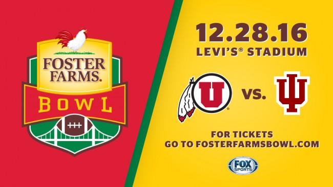 2016 Foster Farms Bowl - Utah vs. Indiana