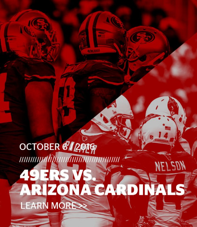49ers vs. Cardinals