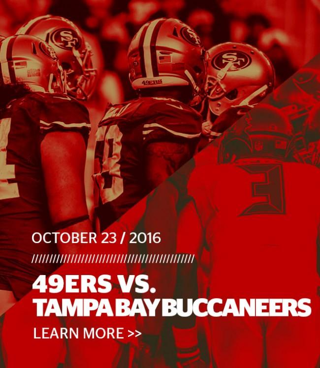49ers vs. Buccaneers