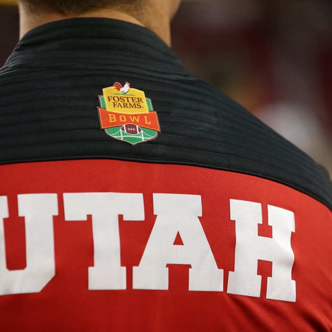 Foster Farms Bowl #19 Utah vs. Indiana 28