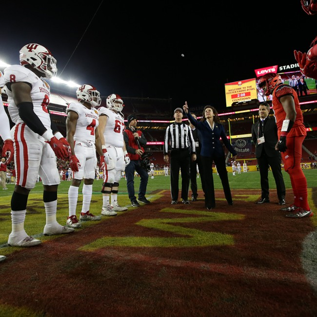 Foster Farms Bowl #19 Utah vs. Indiana 29