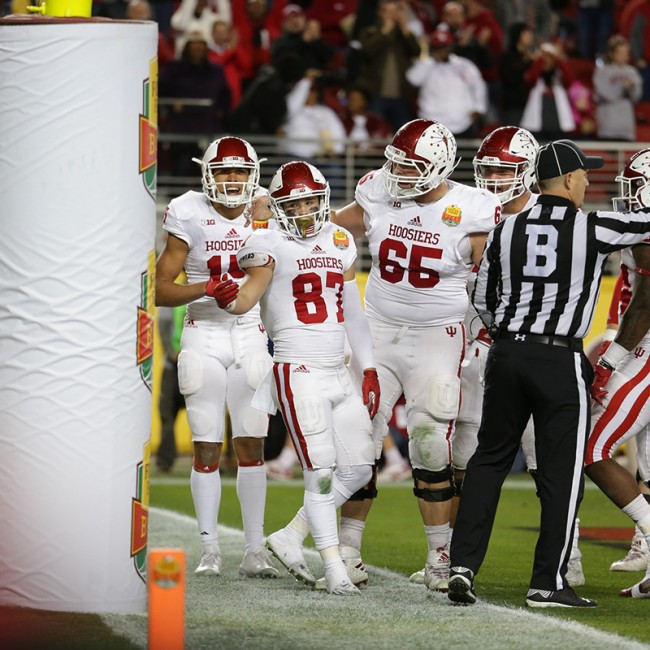 Foster Farms Bowl #19 Utah vs. Indiana 10
