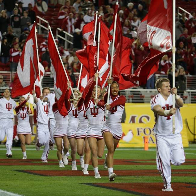 Foster Farms Bowl #19 Utah vs. Indiana 32