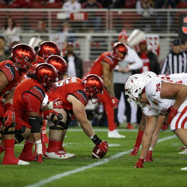 Foster Farms Bowl #19 Utah vs. Indiana 34