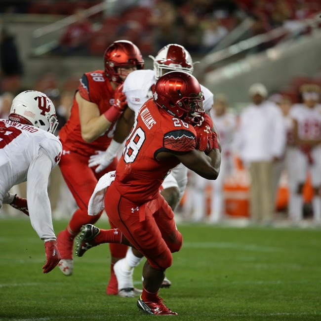 Foster Farms Bowl #19 Utah vs. Indiana 35