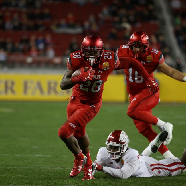 Foster Farms Bowl #19 Utah vs. Indiana 36