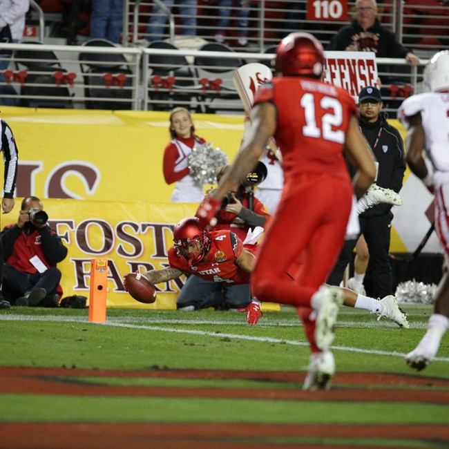 Foster Farms Bowl #19 Utah vs. Indiana 40