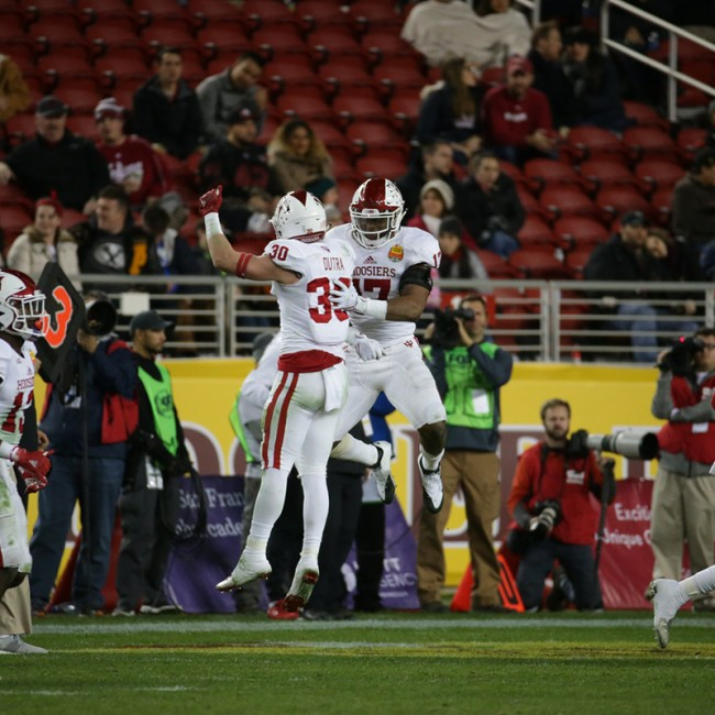 Foster Farms Bowl #19 Utah vs. Indiana 43