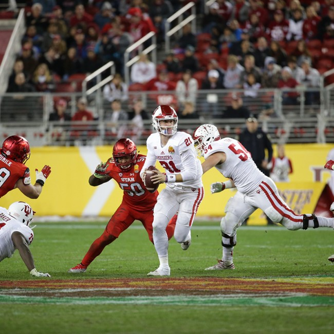 Foster Farms Bowl #19 Utah vs. Indiana 45