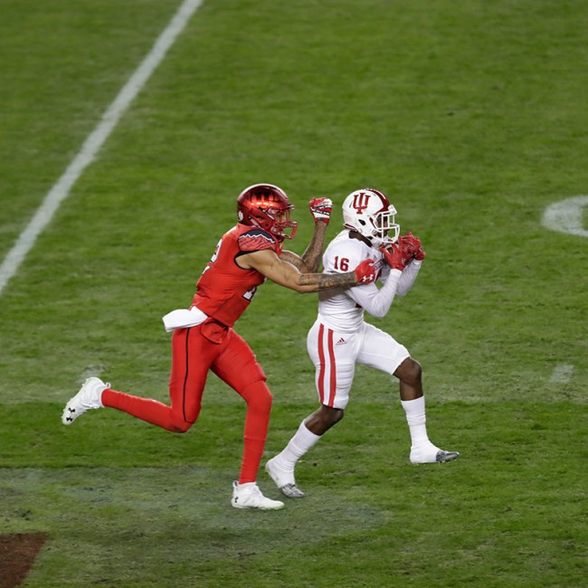 Foster Farms Bowl #19 Utah vs. Indiana 23