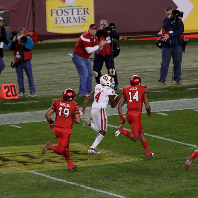 Foster Farms Bowl #19 Utah vs. Indiana 25