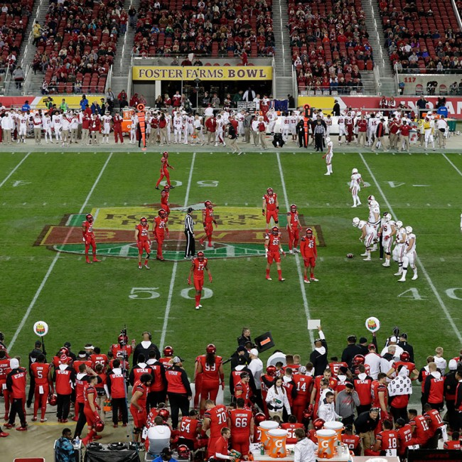 Foster Farms Bowl #19 Utah vs. Indiana 26