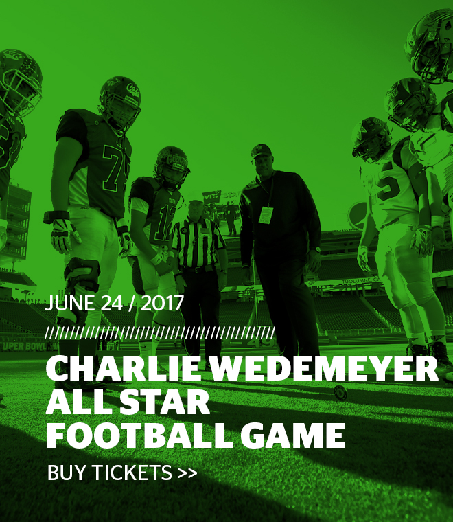 Charlie Wedemeyer All Star Football Game