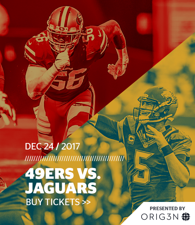 Jaguars vs. 49ers
