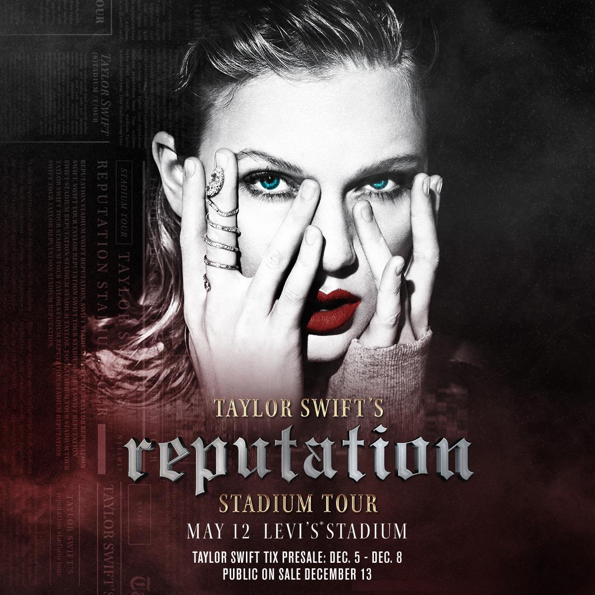 Taylor Swift Returns To Levis Stadium With Reputation Stadium Tour