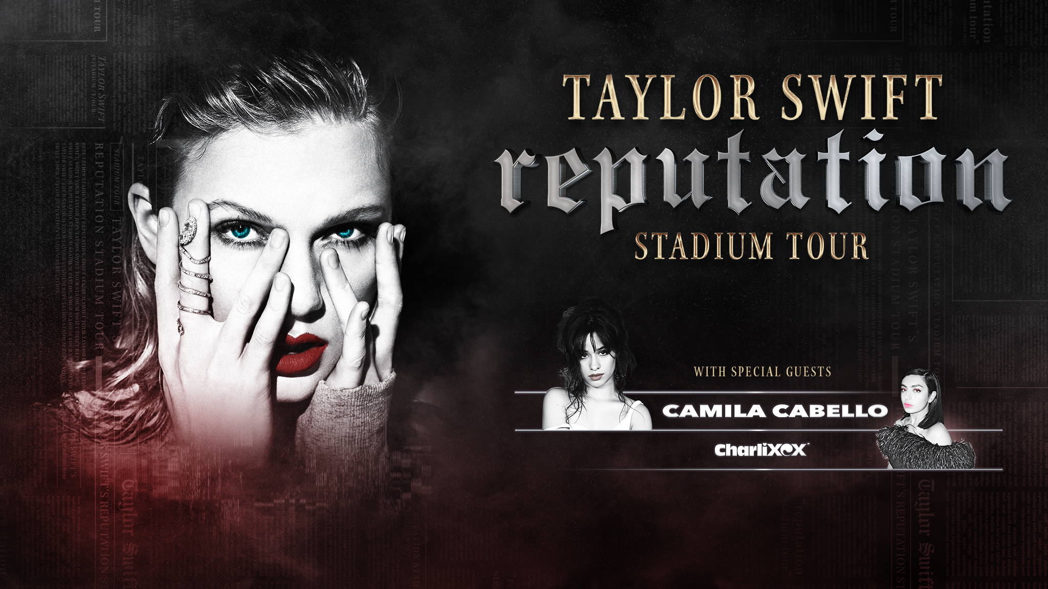 Taylor Swift reputation Stadium Tour - Levi's® Stadium