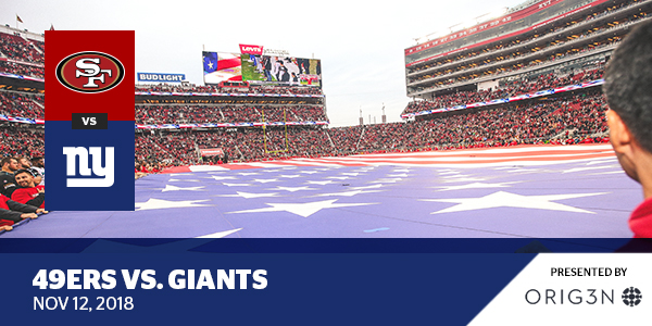 49ers vs Giants