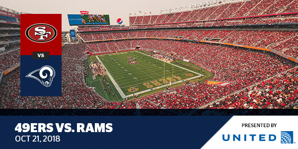 Los Angeles Parking Ticket >> 49ers vs. Rams - Levi's® Stadium