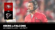 Week 15: 49ers vs. Falcons